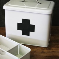 Vintage Style Tin First Aid Box - View All - Home Accessories
