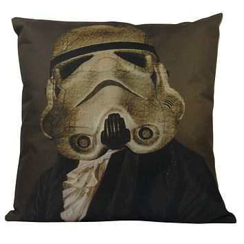 Star | Wars | Trooper | Pillow Cover | Movie | Throw Pillow | Star Gifts | Fun Gifts | Kids Room | Home Decor | Gift idea | Room Decor