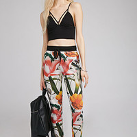 Tropical Print Sweatpants