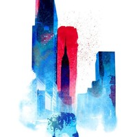 """""""The Wolf Of The City"""" - Art Print by Robert Farkas"""