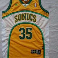 Rare Kevin Durant 35 Seattle SuperSonics NBA Jersey Kevin Durant Seattle Super Sonic Basketball Jersey All Stitched and Sewn Any Size S -XXL