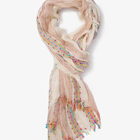 Striped Open-Knit Scarf | FOREVER 21 - 1035880885