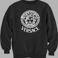 VERSACE Printed Logo New Sweater for Mens Sweater and Womens Sweater *
