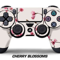 Designer Skin Sticker Wrap for PS4 Playstation 4 Remote Controller Decal CHERRY