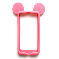 Mouse Ears iPhone Case in Rose