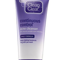 Clean & Clear Continuous Control Acne Cleanser, 5 Ounce