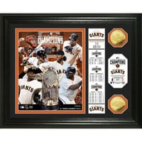 San Francisco Giants 2014 World Series Champions inBannerin Gold Coin Photo Mint