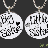Sister Gifts | Sister Gift | Sister Presents | Sister Jewelry | Big Sister | Little Sister | Personalized Gift | Korena Loves