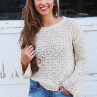 Fray Away Sweater