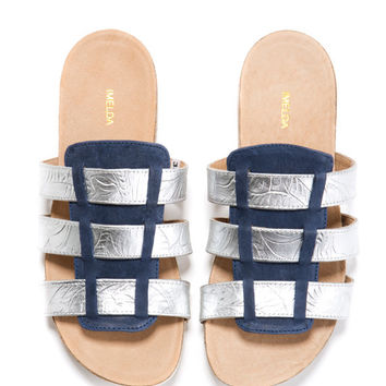 Sandals. C'ia sandals. Comfort shoes, Comfort sole with a cork inlay.