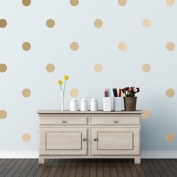 "3"" Polka Dots Wall Decals"