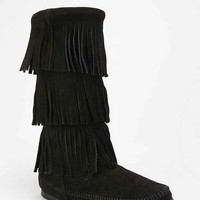 Minnetonka Triple Fringe Boot-