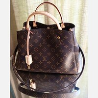 LV Louis Vuitton Shoulder Bag Female Inclined Shoulder Bag