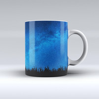 The Silhouette Night Sky ink-Fuzed Ceramic Coffee Mug