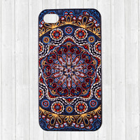 Mandala iPhone 4s Case, Floral iPhone 4 Case, Flower iPhone case 4s iphone cover 4 4S 4g 4th