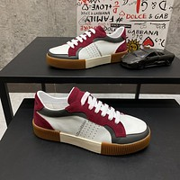 Dolce&Gabbana  Men Fashion Boots fashionable Casual leather Breathable Sneakers Running Shoes0424cx