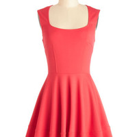 ModCloth Sleeveless Fit & Flare Cute Your Fancy Dress