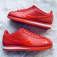 Nike Classic Cortez Forrest Sports Shoes Classic Shoes Leisure Sneakers Red