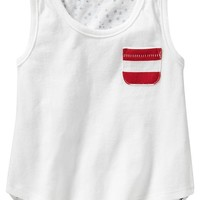 Old Navy Graphic Jersey Tanks For Baby