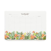 Honeydew Weekly Desk Pad by RIFLE PAPER Co. | Made in USA
