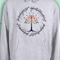 Tree The Ring Space The Lord of The Ring   hoodie Sweatshirt Sweater Unisex - Size S M L XL