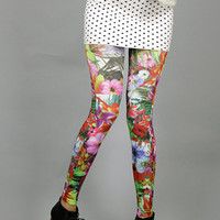 Forever Strung Flower Power Leggings : Karmaloop.com - Global Concrete Culture
