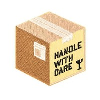 Handle With Care Patch