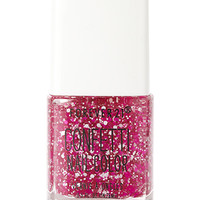 FOREVER 21 Popping Pink Confetti Nail Polish Pink/White One