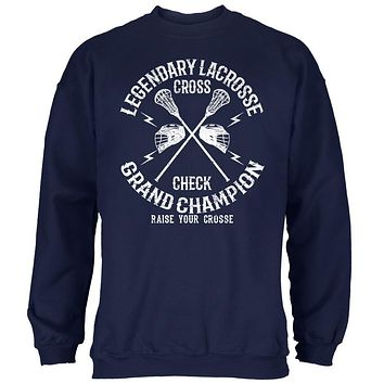 Lacrosse Cross Check Champion Mens Sweatshirt