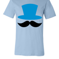 top hat and enormous moustache ringmaster - Unisex T-shirt