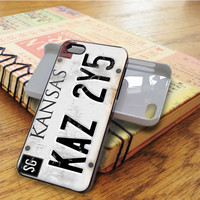 Supernatural License Plate iPhone 5C Case