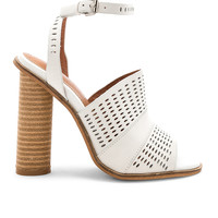 Alias Mae Affect Sandal in Light Grey Nubuck