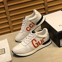 Gucci Fashion Men Casual Running Sport Shoes Sneakers Slipper Sandals High Heels Shoes-5