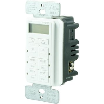 Ge Mytouchsmart Digital In-wall Timer