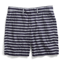 Black Stripe Short
