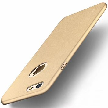 For iPhone 7 Hard PC Frosted Matte Silky Skid Resistant Shockproof Dropproof Back   4.7 Inch