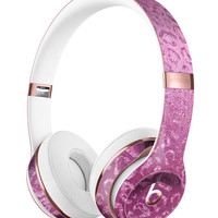 Glamorous Pink Cheetah Print Full-Body Skin Kit for the Beats by Dre Solo 3 Wireless Headphones