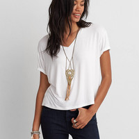 AEO SOFT & SEXY SKY HIGH V-NECK T-SHIRT