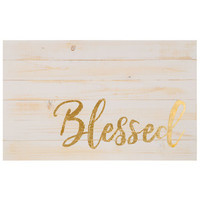 Blessed Wood Wall Decor | Hobby Lobby | 1470350