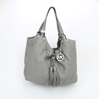 Michael Kors Camden Leather Large Shoulder Bag