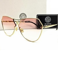 mieniwe? Perfect VERSACE Women Fashion Popular Summer Sun Shades Eyeglasses Glasses Sunglasses