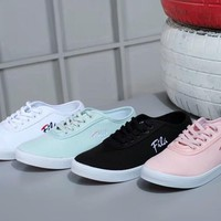 FILA Casual Lady Embroidered Shoes