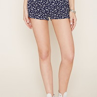 Floral Print Shorts | Forever 21 - 2000160410