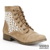Candie's® Lace-Up Ankle Boots - Women