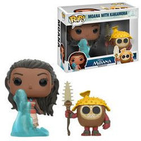 POP! DISNEY: MOANA - MOANA AND KAKAMORA 2 PACK