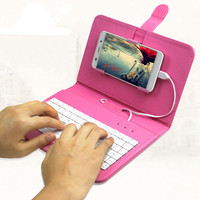 Cute cool keyboard case cover for any phone