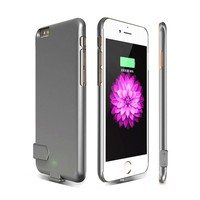 """2000mAh Portable External Power Bank Battery Charger Case Cover For iPhone 6 plus 6s plus Ultra thin Phone Power Bank Case 5.5"""""""