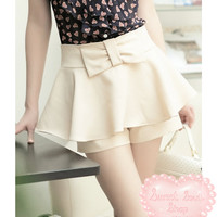 Sweet Bowknot Skirt / Shorts