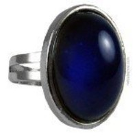 Authentic adjustable Oval Mood Ring