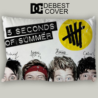 5 Seconds of Summer Funnny Eye Pillow Case In 20 x 30 Inches